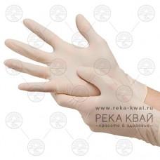Латексные медицинские одноразовые перчатки