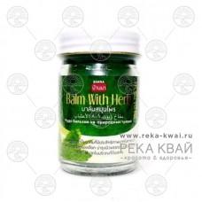 Тайский чудо бальзам на природных травах зеленый, Banna