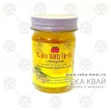 Тайский чудо бальзам на природных травах желтый, Banna