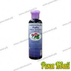 Лечебный тайский шампунь с экстрактом синего чая