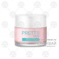 Маска для лица с розовой глиной, Pretty