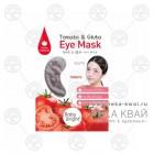 Патчи для кожи вокруг глаз с томатом и глутатионом, Baby Bright