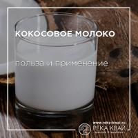 Кокосовое молоко польза и применение