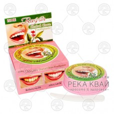 Тайская отбеливающая зубная паста с гвоздикой, ISME Rasyan